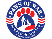paws of war ™ logo