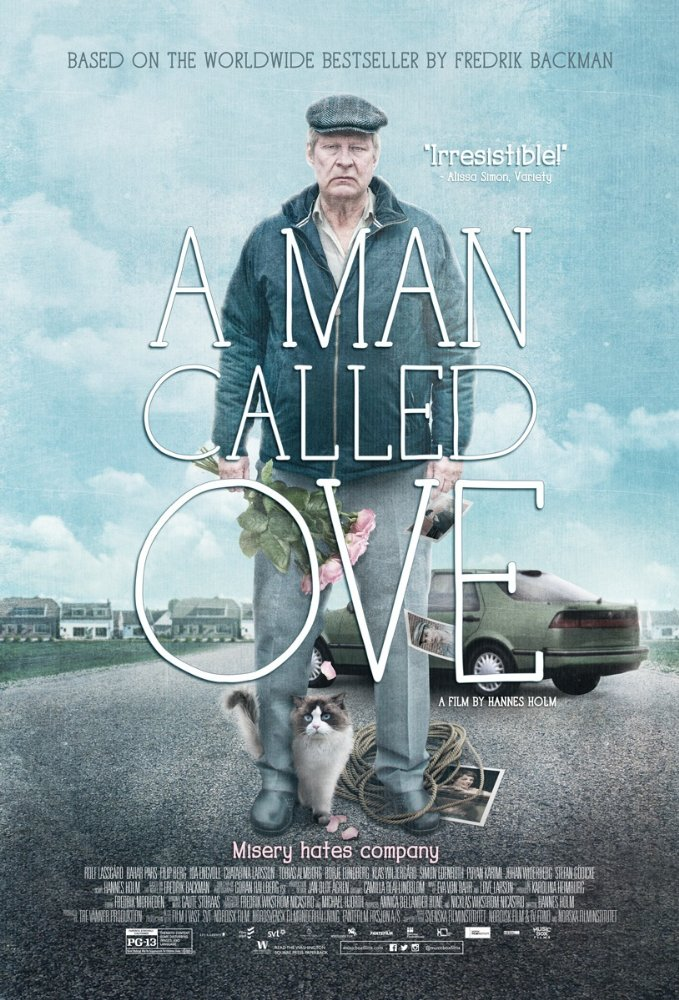 "The film poster for ""A Man Called Ove"""