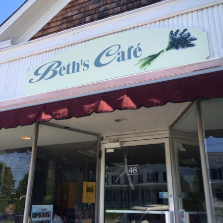 The Moment: Beth D'Alessio, Owner of Beth's Cafe