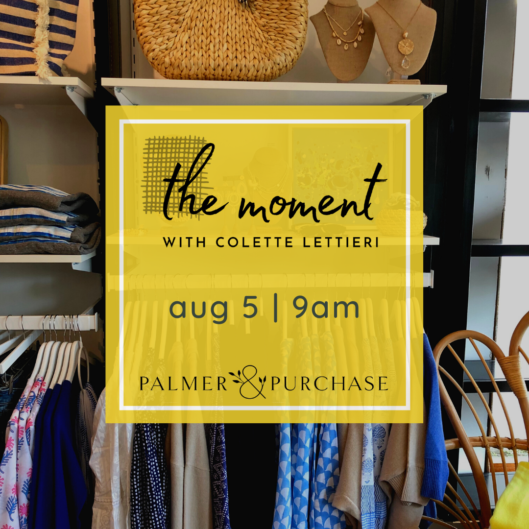 the moment with colette lettierie palmer and purchase