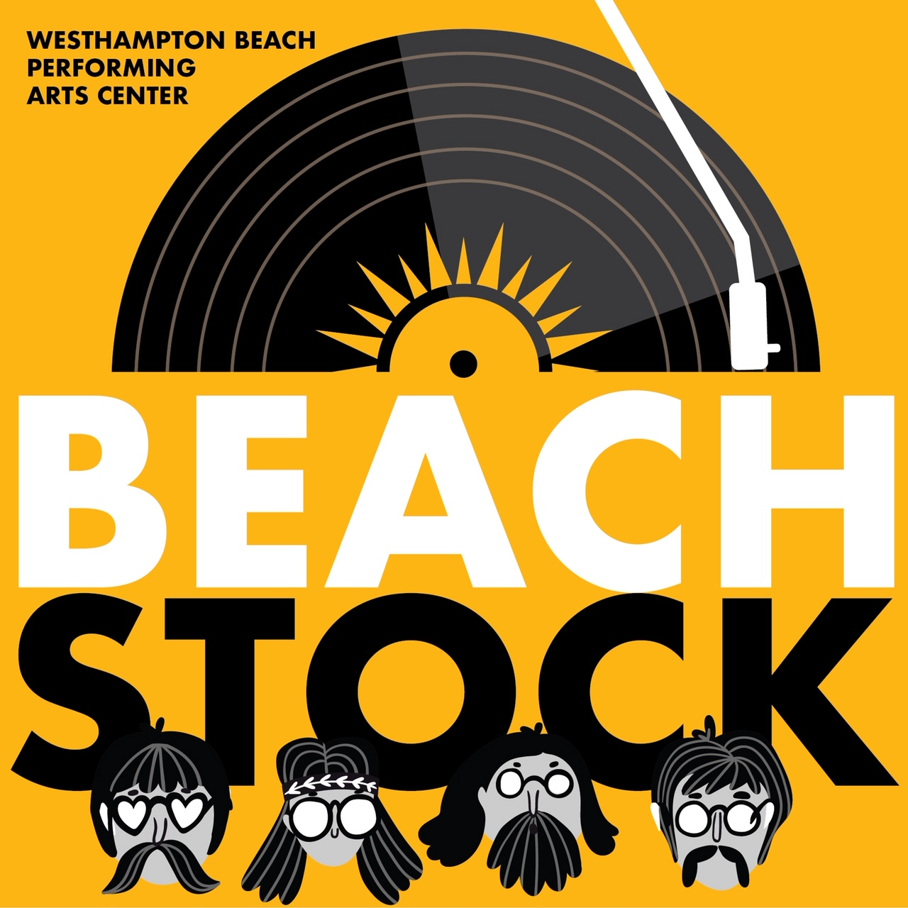 Beachstock: Square Feeet plays The Best of the Beatles, 1963-1973!